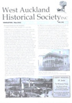 West Auckland Historical Society Newsletter 341; May 2012