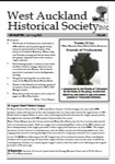 West Auckland Historical Society Newsletter 365; 2015-07 NL July-Aug