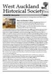 West Auckland Historical Society Newsletter 361; 2014-12 NL Dec