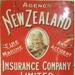 Agency advertising sign; New Zealand Insurance Company Ltd