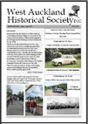 West Auckland Historical Society Newsletter 376