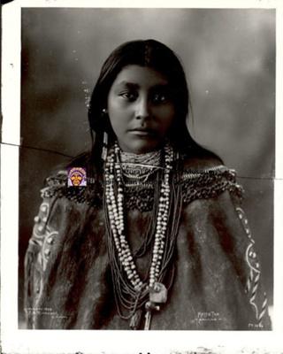 Hattie Tom, Apache; Frank A. Rinehart; 1899; 1.TI.020.13