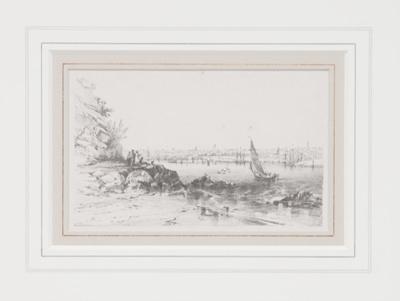 Sydney Cove from Milson's Point; Conrad MartensBritish / Australianb. 1801 - d. 1878; 1851; 2.3-2.49.NSY