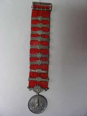 Medal - Long Service A Williamson 1945; 1945; 2011.075