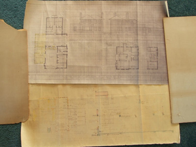 Plans Ellerslie Station 1948; 1948; 2011.029.03