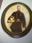 Photo Oval frame of Albert Clark; 2011.055