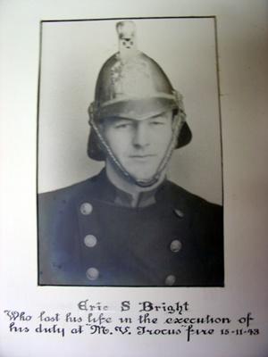 Photo Eric Bright memorial; 2011.243