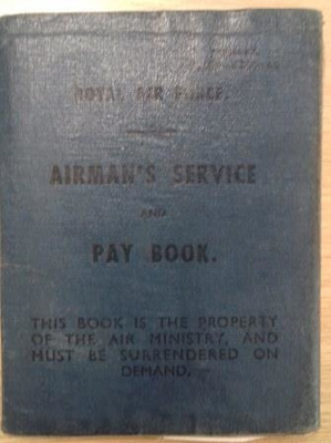 Airmen's service book belonging to Flight Lieutenant Howard Bell, 130 Squadron; Air Ministry; 1940; L006.2