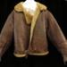 Irvin flying jacket belonging to Howard Bell ; 1940; L006.3