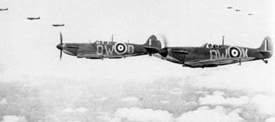 photo negative - 609 Squadron; IWM; 24 July 1940; 2018.1.273