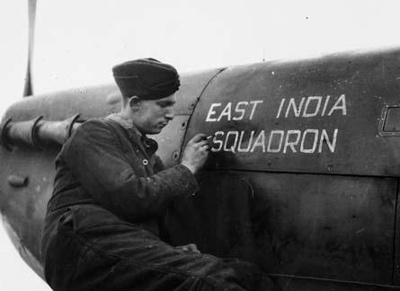 photo negative - 92 Squadron; IWM; 2018.1.222