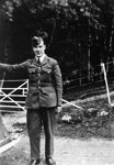 photo negative - an unidentified airman; Cameron, JSD; 18th August 1940; 2018.1.560