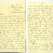 Letter sent to Lilian Simpson from Keith Ogilvie from RAF hospital in Cosford, 18th May 1945; Ogilvie, Keith; 18/05/1942; 2017.11.14