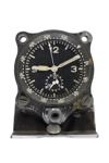 Cockpit clock from a Me109 German aircraft; L004.4