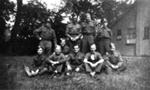 photo negative - Station Personnel; 1940; 2018.1.345
