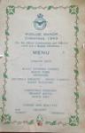 Rudloe Manor Christmas menu, 1943.; 12/1943; 2017.11.62