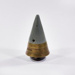 1 x 3.7 Anti-Aircraft Shell fuse and 2 x protective covers adapted into ashtray and cigarette lighter ; L007.5
