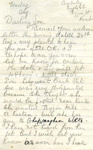 A letter to Harry Simpson from his mother, dated 'Monday Aug, 1942'.; Simpson, Mrs; 08/1942; 2017.11.50