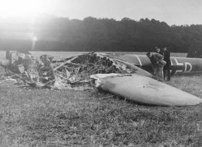 photo negative - The Leaves Green Dornier; IWM; 18 August 1940; 2018.1.417