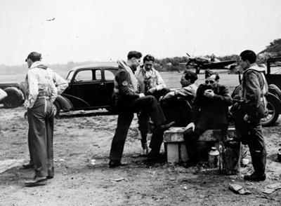 photo negative - 74 Squadron; circa 1943; 2018.1.105