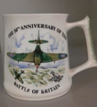 Battle of Britain 50th Anniversary ceramic mug; 1990; 2017.27