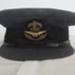 RAF Service Dress cap belonging to Pilot Officer Peter Pool; Gieves Ltd.; 2017.29.1