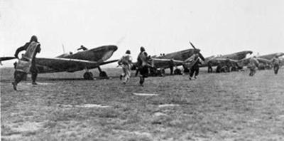 photo negative - 32 Squadron; Topham Picture Library; circa 1938; 2018.1.008