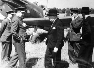 photo negative - 609 Squadron; IWM; 7 July 1941; 2018.1.266