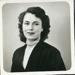 Two photographs of Lilian Simpson, Feb 1944.; 02/1944; 2017.11.64