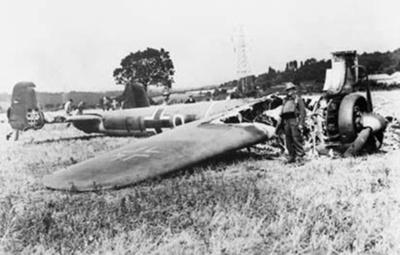 photo negative - The Leaves Green Dornier; IWM; 18 August 1940; 2018.1.416