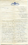 A letter from Harry Simpson to his family, 17th October. ; Simpson, Harry; 17th October; 2017.11.52