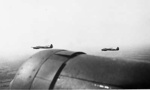 photo negative - Luftwaffe bombers from the air; Kent, JA; 1940; 2018.1.363