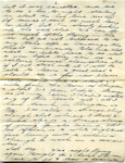 A letter sent to Lilian Simpson from Sgt Leslie Collins.   ; Collins, Leslie; 2017.11.39
