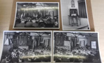 4 original photographs of the memorial inauguration event at the original ST George's Chapel 1943.1 Battle of Britain pamphlet; British official photograph; 1943; 2017.18