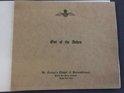 'Out of the Ashes' pamphlet - 16th September 1950; 16.9.1950; 2017.9