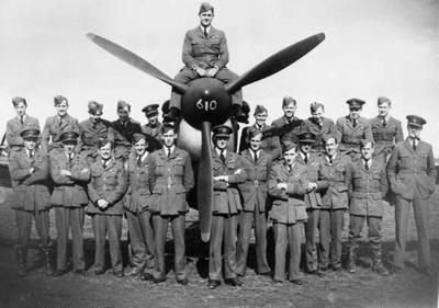 photo negative - 610 Squadron; Wilson, DS; 31 August 1940; 2018.1.283