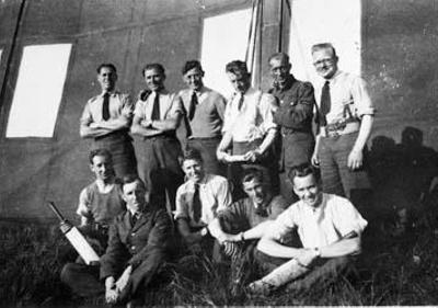 photo negative - 610 Squadron; June 1940; 2018.1.278