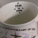 Battle of Britain 50th Anniversary ceramic mug; 1990; 2017.27