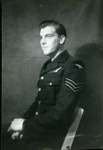 A photograph of Harry Simpson in his RAF uniform.; 2017.11.55