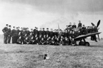 photo negative - 72 Squadron; Crown Copyright; 1940; 2018.1.65
