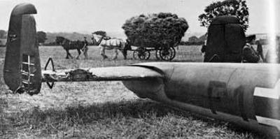 photo negative - The Leaves Green Dornier; IWM; 18 August 1940; 2018.1.412