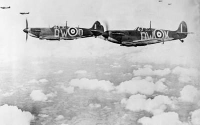 photo negative - 609 Squadron; IWM; 2018.1.272