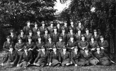 photo negative - Anti-aircraft School of Command; Mrs CE Hunt; 1940; 2018.1.351