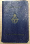 Airmen's New Testament Bible belonging to Flight Lieutenant Howard Bell, 130 Squadron; 1940; L006.1