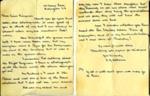 A letter sent to Miss Simpson from E.M Osbourne.    ; Osbourne, E.M; 2017.11.42