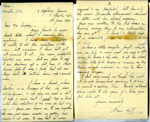 A letter to Mrs Simpson from Edna Hill, 19th June 1944.  ; Hill, Edna; 19/06/1944; 2017.11.49