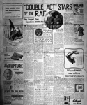 photo negative - 74 Squadron; The People Newspaper; 20 December 1940; 2018.1.89