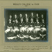 1925 First XV111 Football Team Wesley College