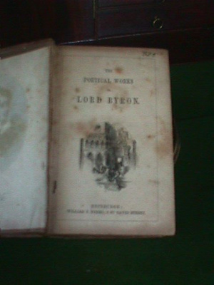 Poetical Works of Lord Byron,; William P. Nimmo; 325.000
