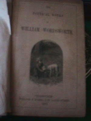 Poetical Works of William Wordsworth; William P. Nimmo; 1863; 328.000